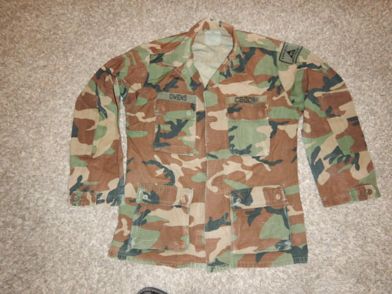 CECOM BDU shirt Dscn2411