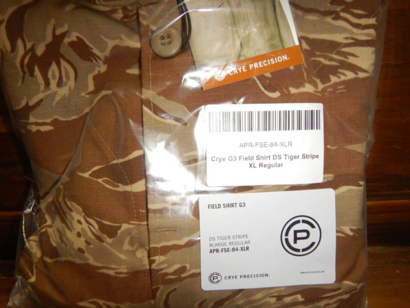 Crye Desert Tiger Stripe G3 * Tactical Distributors Special Edition Dscn3216