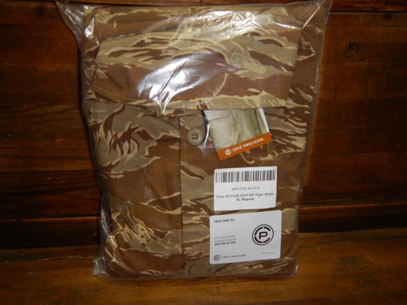 Crye Desert Tiger Stripe G3 * Tactical Distributors Special Edition Dscn3217