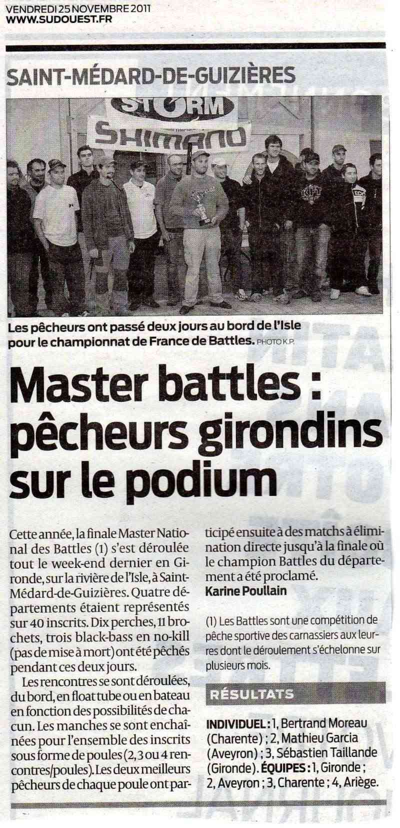 MASTER NATIONAL DES BATTLES 2011 - Page 7 Articl10