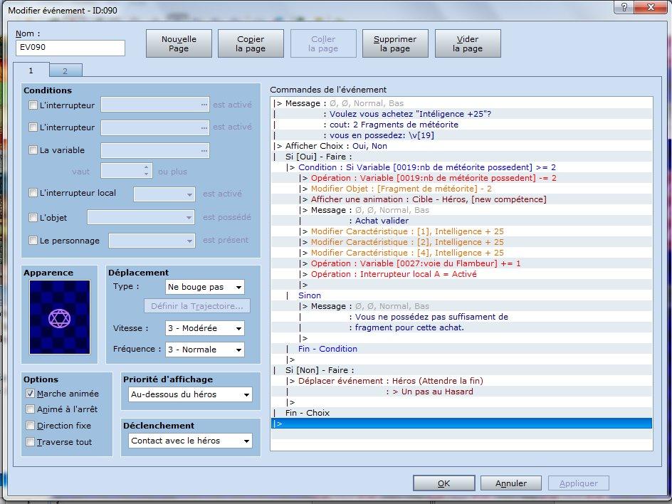 Script anti-lag [résolue]  Event110
