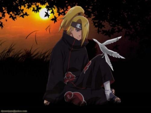 Deidara dans le manga Naruto Deidar10