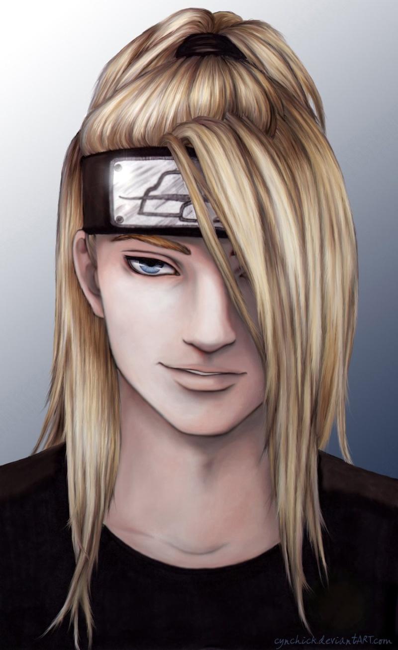 Deidara dans le manga Naruto Semi_r10