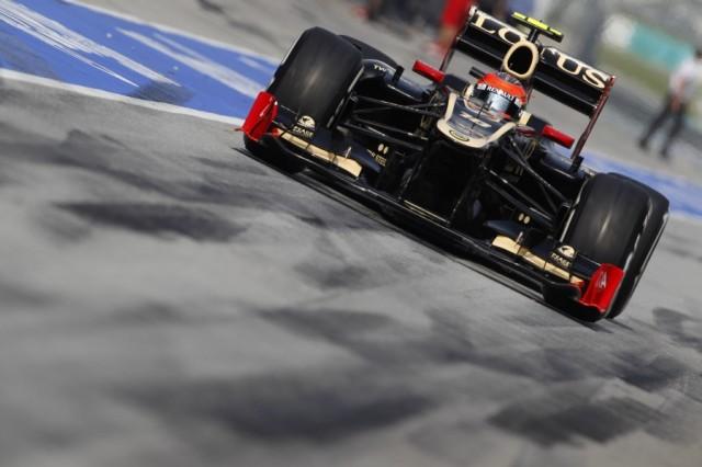 Lotus, a Valencia per vincere. Romain10