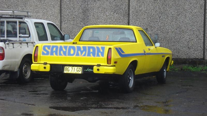 Spot - Yellow Sandman Ute Dsc04411