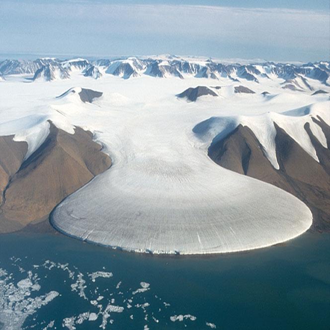 Les glaciers dans le monde Groenl10
