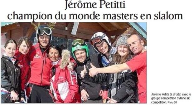 Championnats du monde Masters de Slalom Petitt12