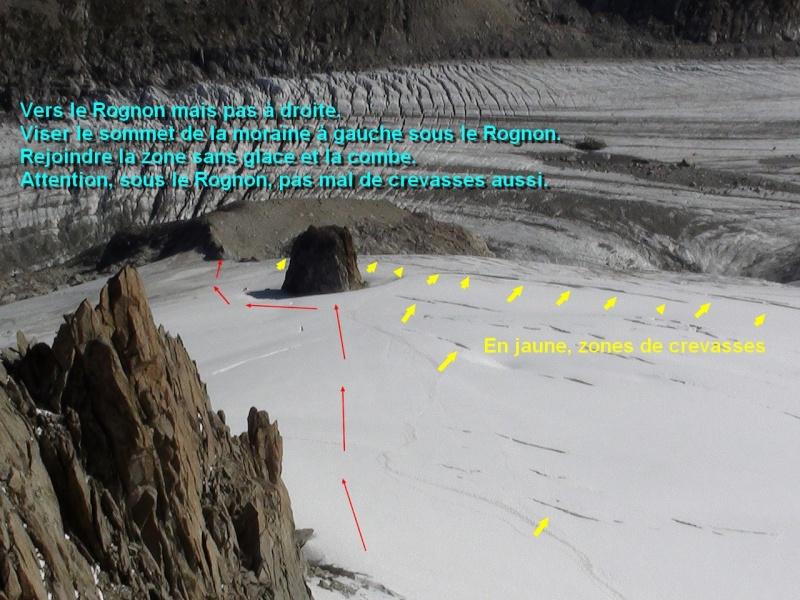 Recul glaciaire et ses conséquences. Rognon10