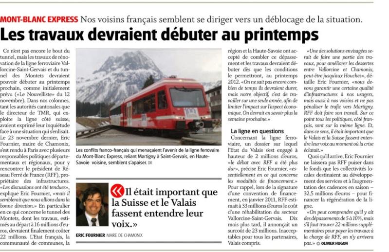 Projet du tram train Train10