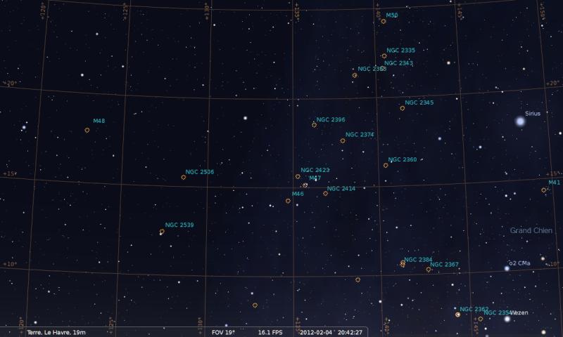 2012: le 31/01 à 20h ~ 21h - Lumière étrange dans le ciel  - Le Havre, centre ville. (76)  Sirius10