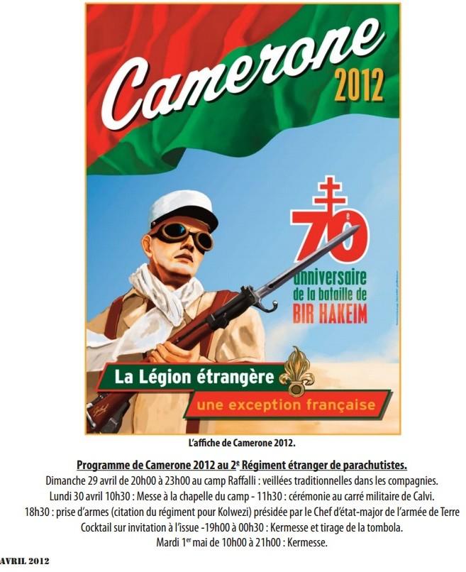 PROGRAMME CAMERONE 2012  CALVI  2  REP Camero11