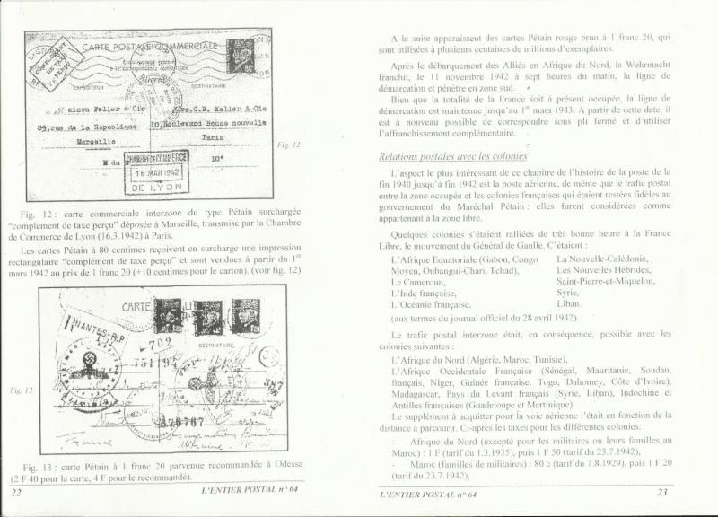 carte intezones du Maroc  Entier17