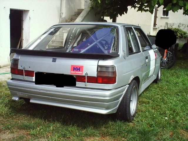 ancienne renault 11 turbo zender d'un amis R11_tu11