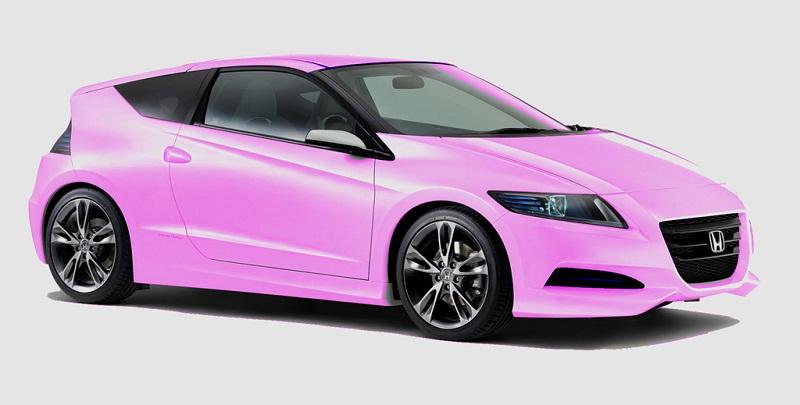Les 7 coloris de la Honda CRZ - Page 2 Pink-110