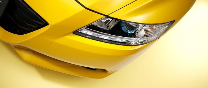 Les 7 coloris de la Honda CRZ Yellow10