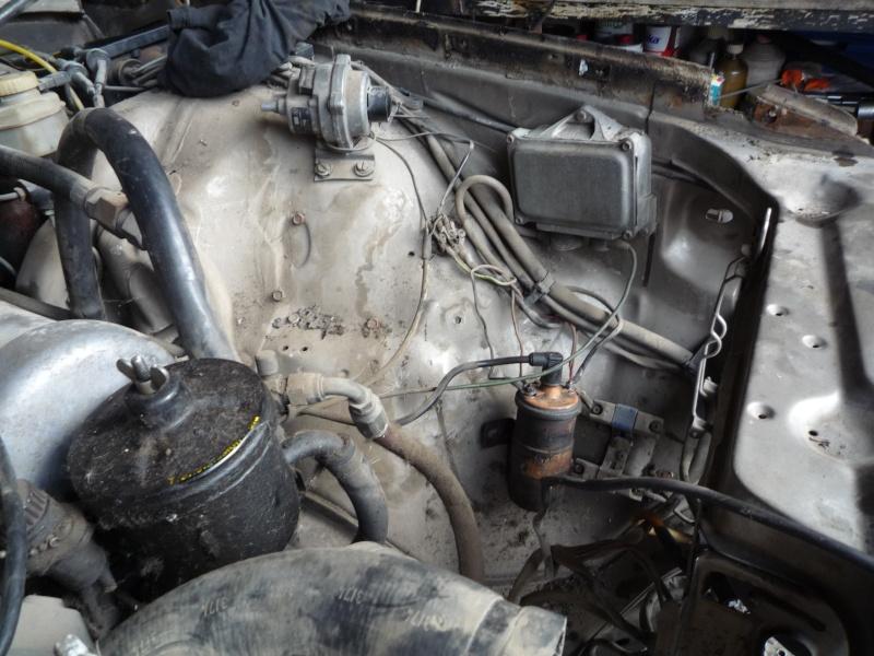 W116 280SE ремонт Nduddn10