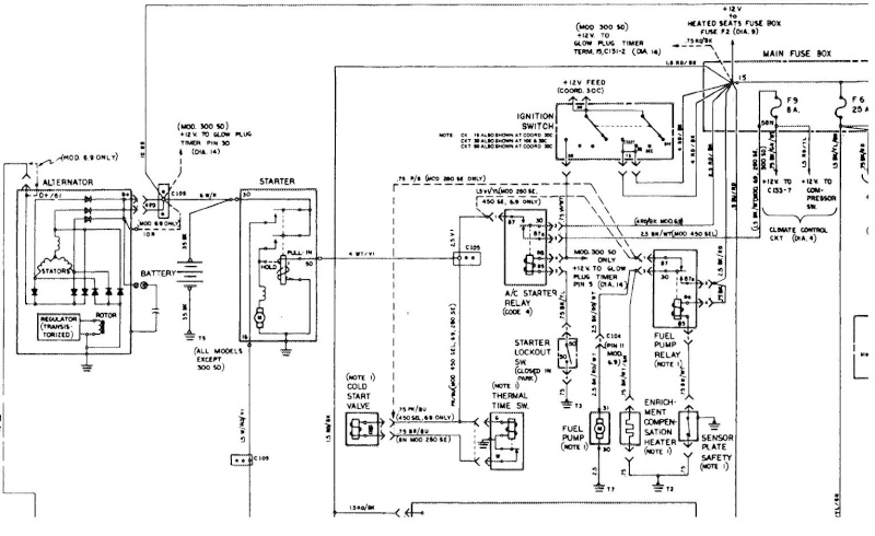 W116 280SE ремонт Nndudd12