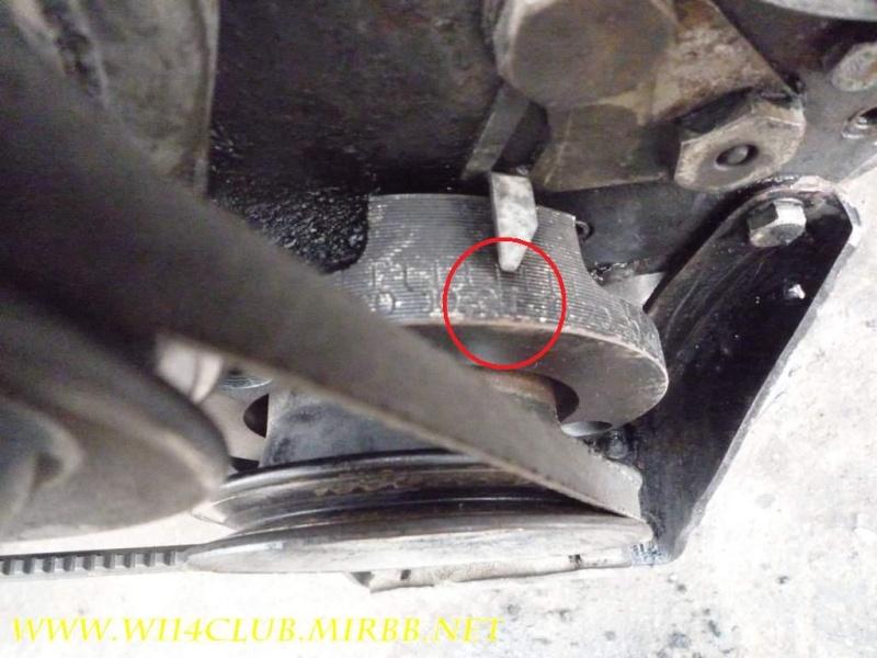 метки цепи грм на мерседес 123 2.0 дизель