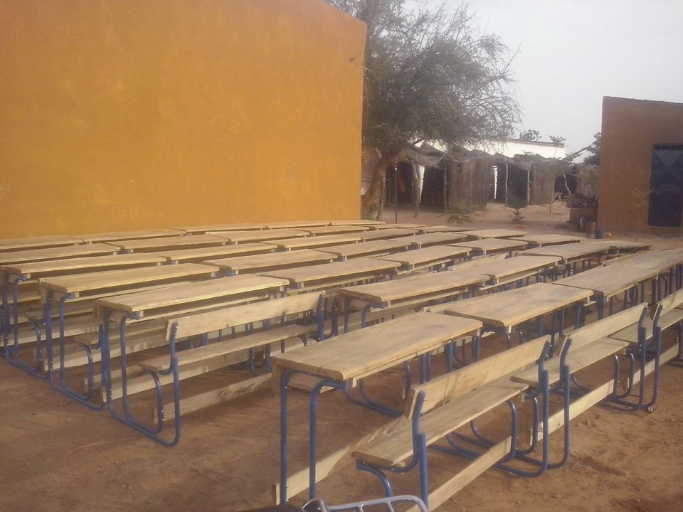 [Désormais visible sur Google-Earth] - Le collège (second cycle) de Komodindé - Mali 16021210