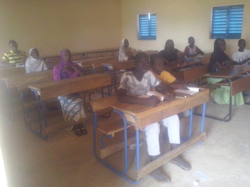 [Désormais visible sur Google-Earth] - Le collège (second cycle) de Komodindé - Mali 16030410