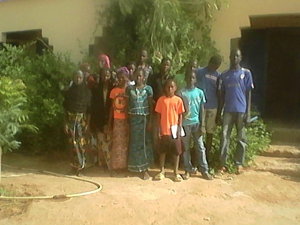[Désormais visible sur Google-Earth] - Le collège (second cycle) de Komodindé - Mali 16042810