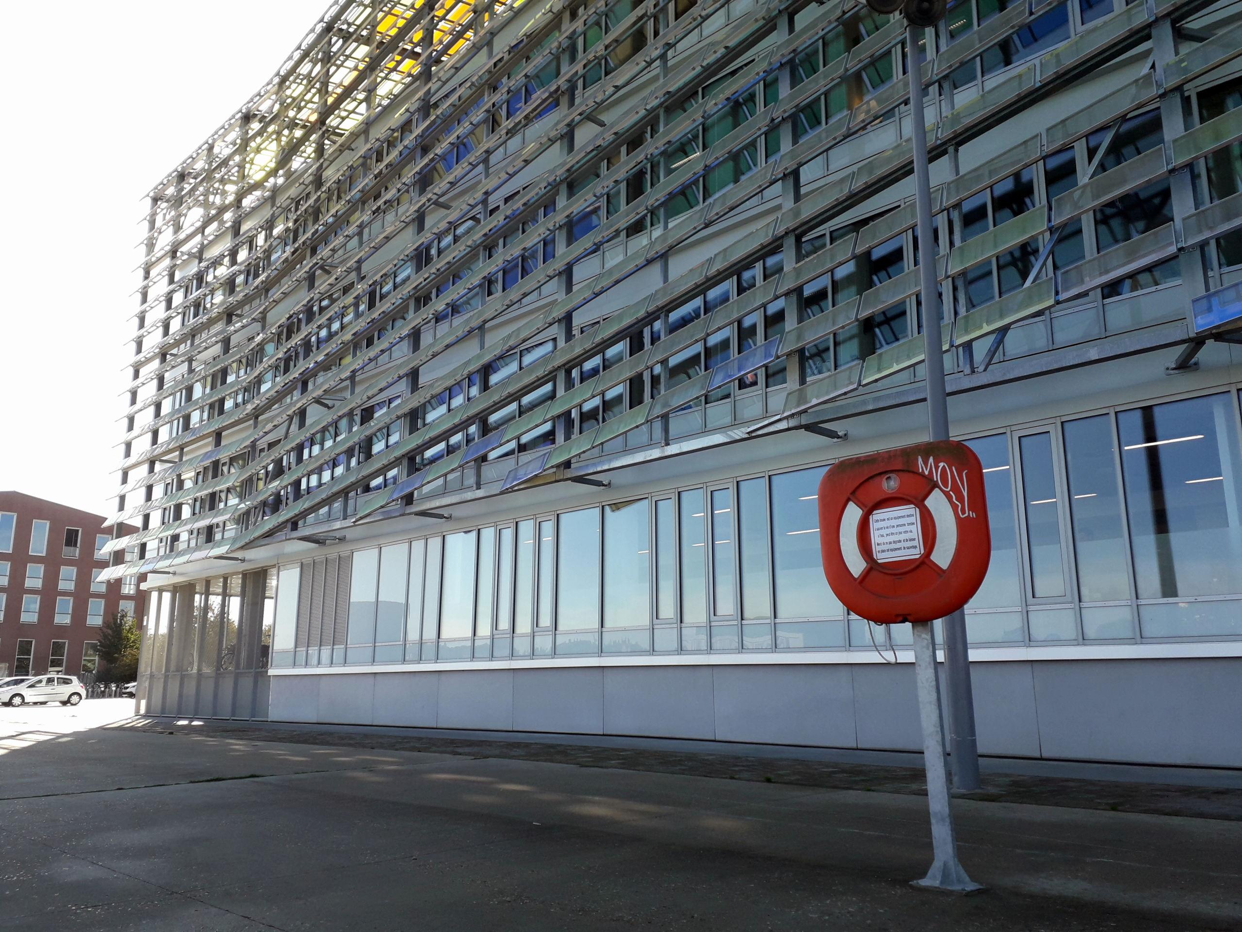 [Bientôt visible sur Google Earth] L'immeuble Metropole Rouen-Normandie - Rouen - Seine Maritime - France 20181010