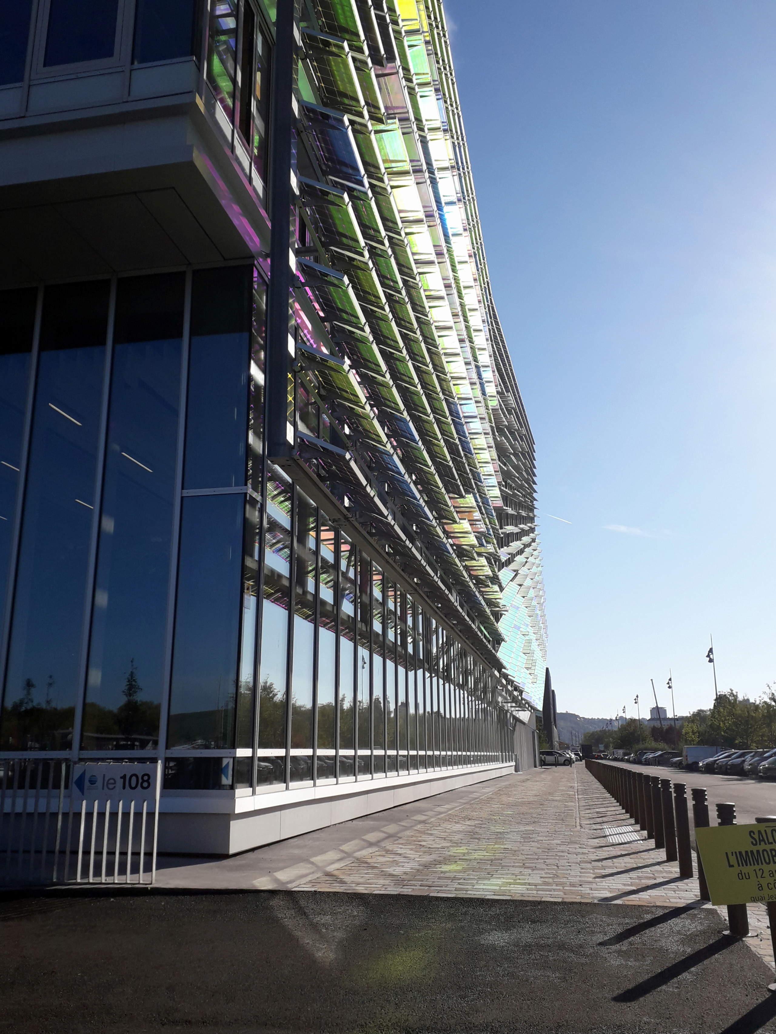 [Bientôt visible sur Google Earth] L'immeuble Metropole Rouen-Normandie - Rouen - Seine Maritime - France 20181012