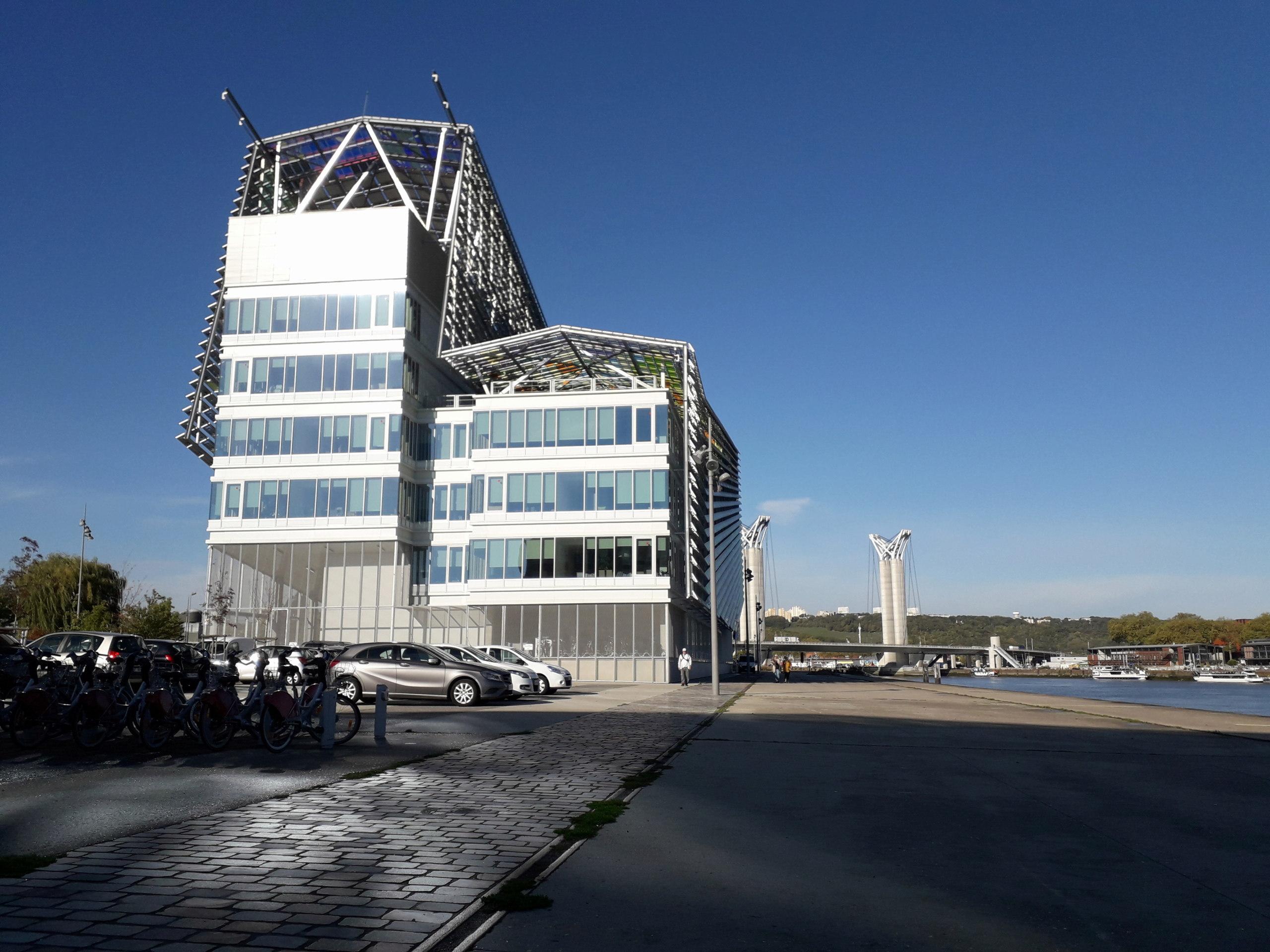 [Bientôt visible sur Google Earth] L'immeuble Metropole Rouen-Normandie - Rouen - Seine Maritime - France 20181013
