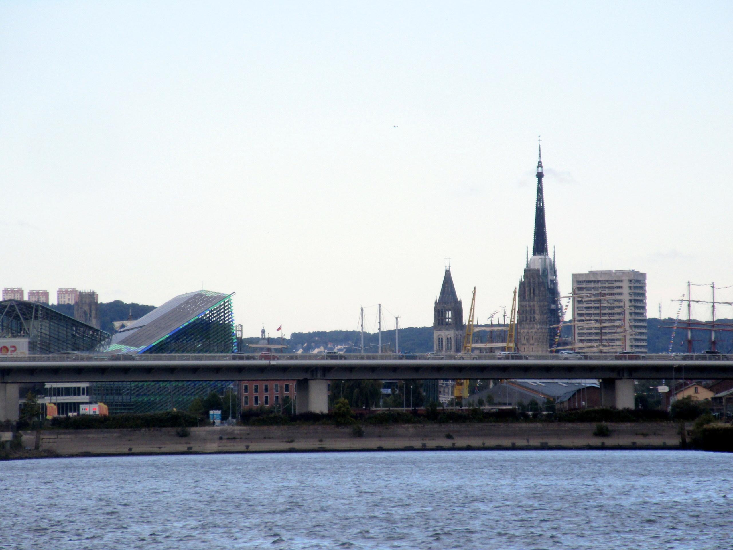 [Bientôt visible sur Google Earth] L'immeuble Metropole Rouen-Normandie - Rouen - Seine Maritime - France 20190622