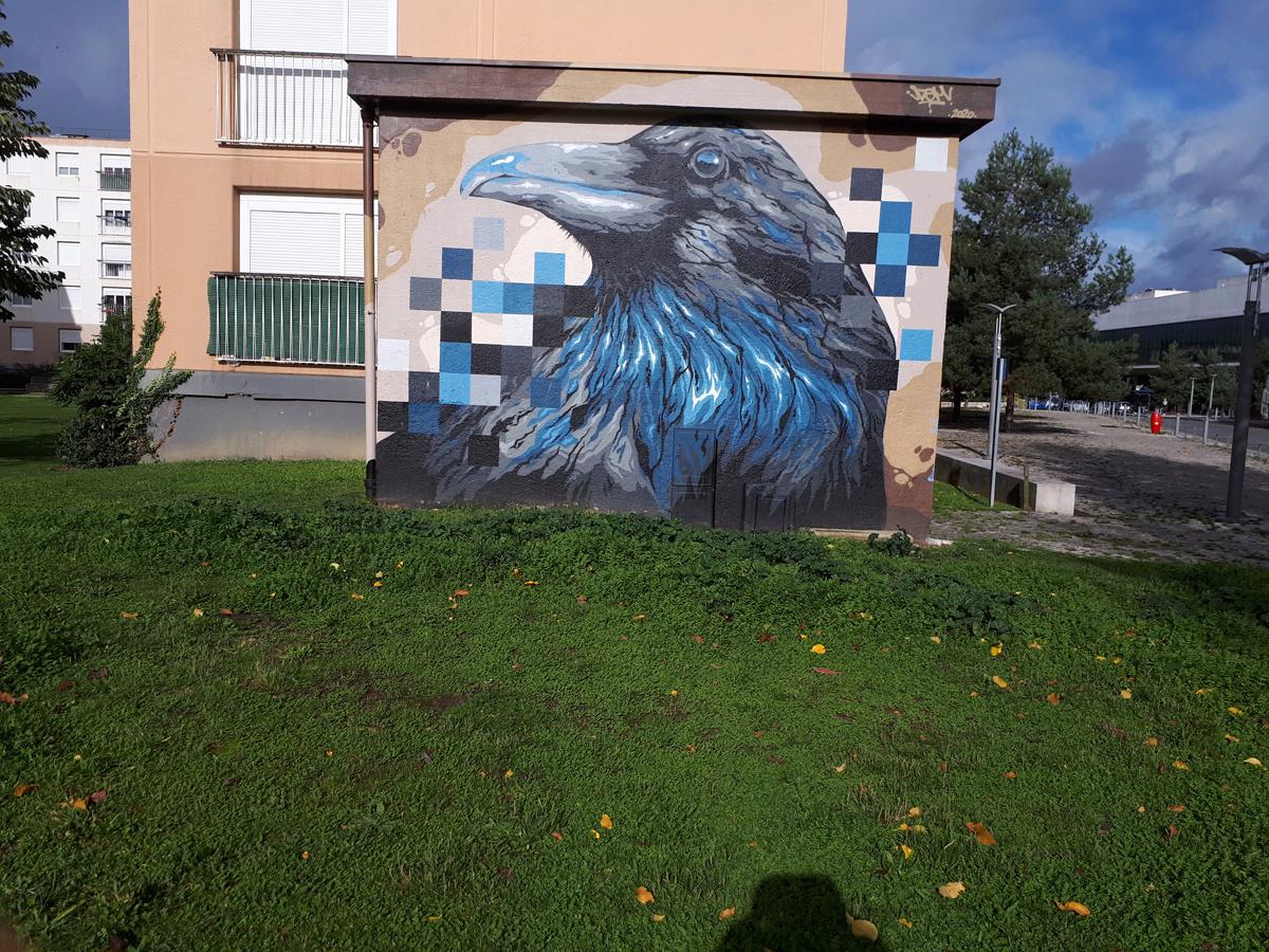 [street art-rue et manifs] ROUEN IMPRESSIONNEE 2020  20201015