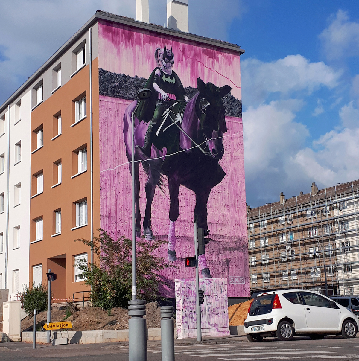 [street art-rue et manifs] ROUEN IMPRESSIONNEE 2020  20201018
