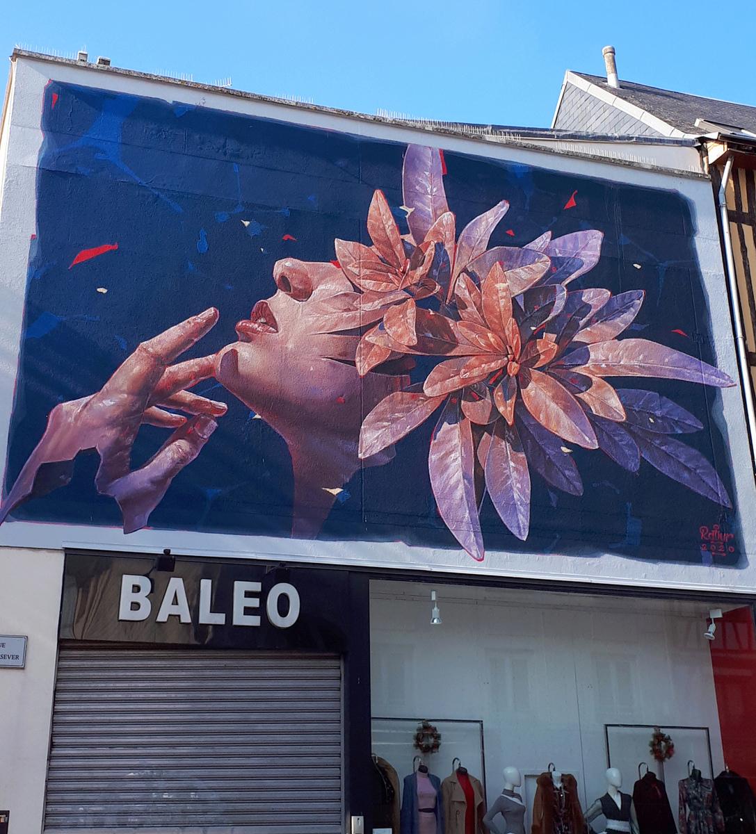 [street art-rue et manifs] ROUEN IMPRESSIONNEE 2020  20201021