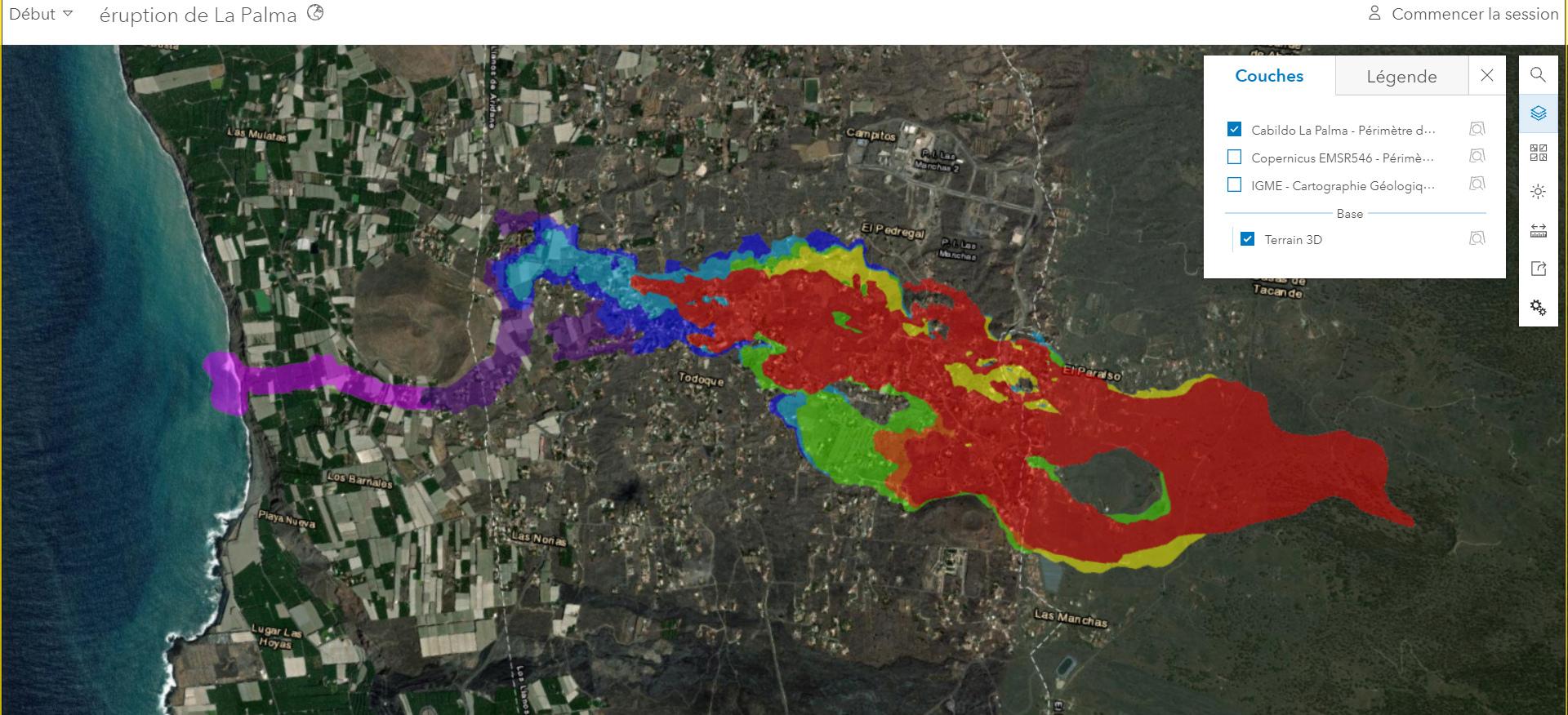 Eruption du volcan Cumbre Vieja - Ile de Palma - Canaries 20210919