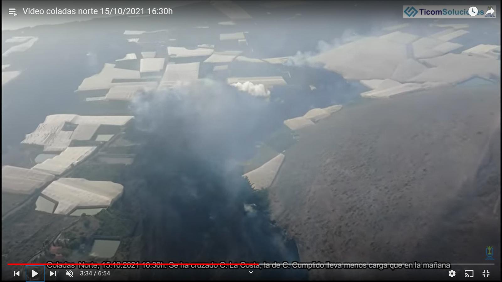 Eruption du volcan Cumbre Vieja - Ile de Palma - Canaries - Page 3 20211019