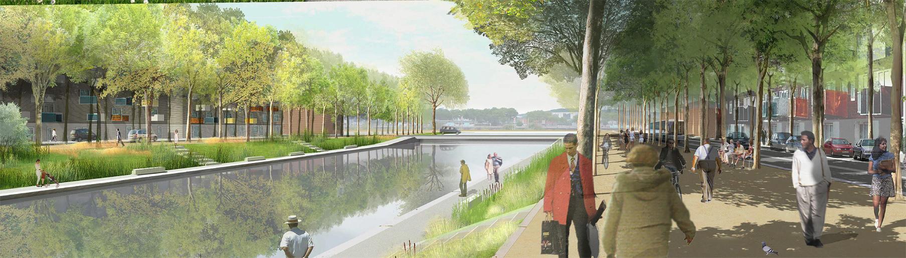 [Bientôt visible sur Google Earth] - Rouen - Ecoquartier Flaubert Canal10