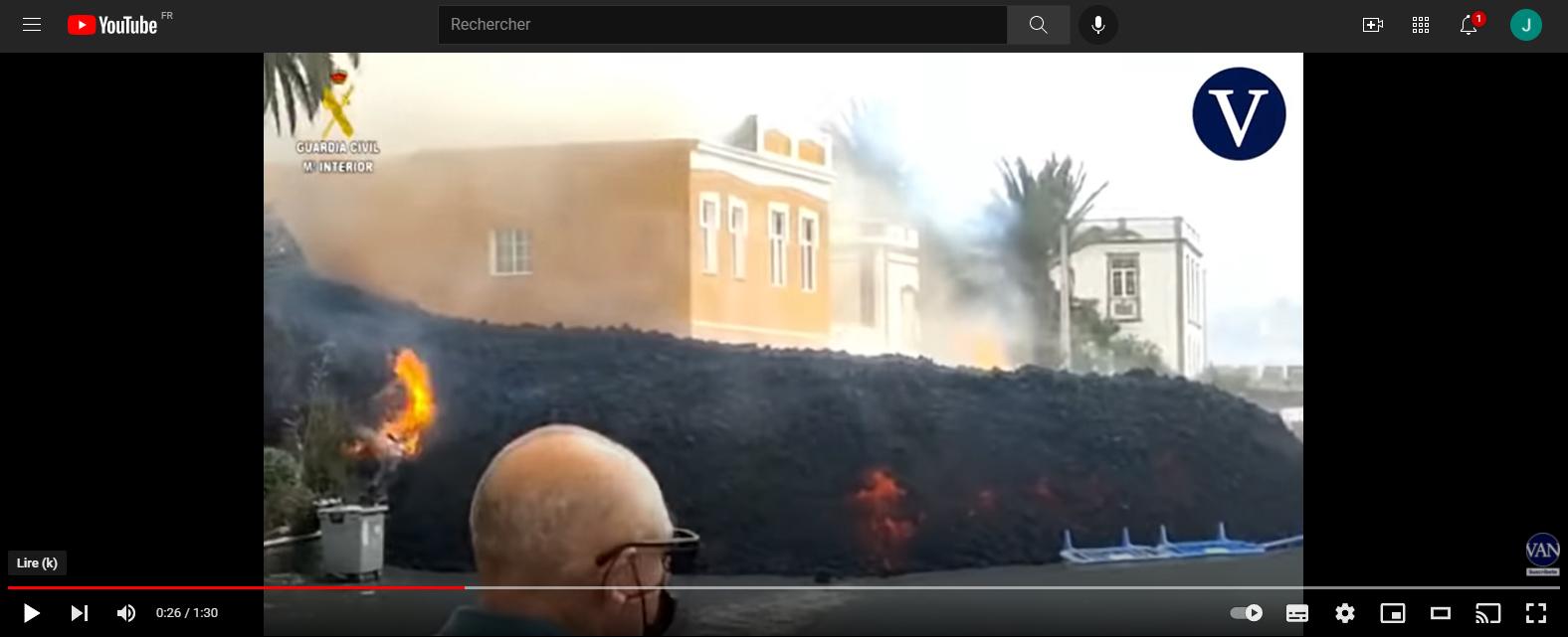 Eruption du volcan Cumbre Vieja - Ile de Palma - Canaries Captur26