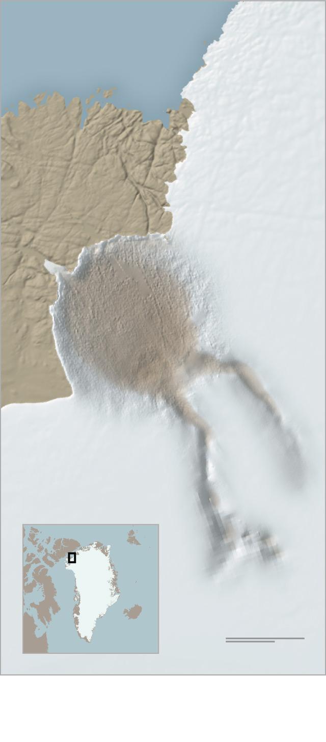 Un cratère sous la glace du Groenland? Crater10