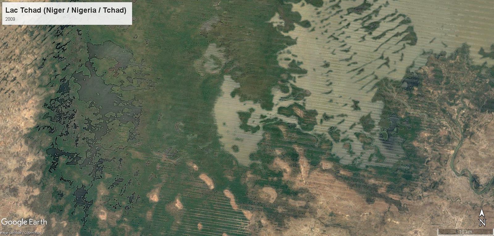 Le réchauffement climatique au Lac Tchad Det-0910