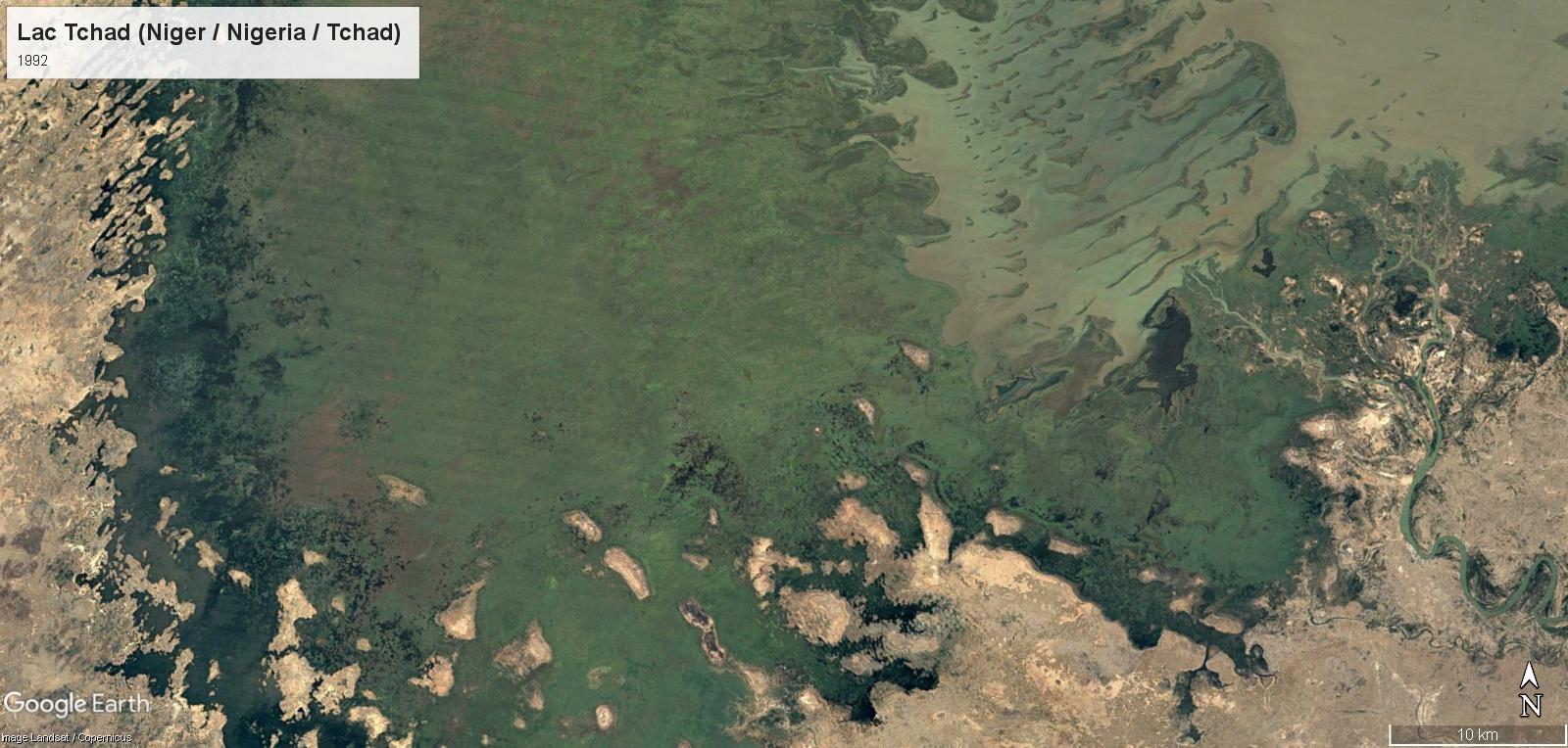 Le réchauffement climatique au Lac Tchad Det-9210