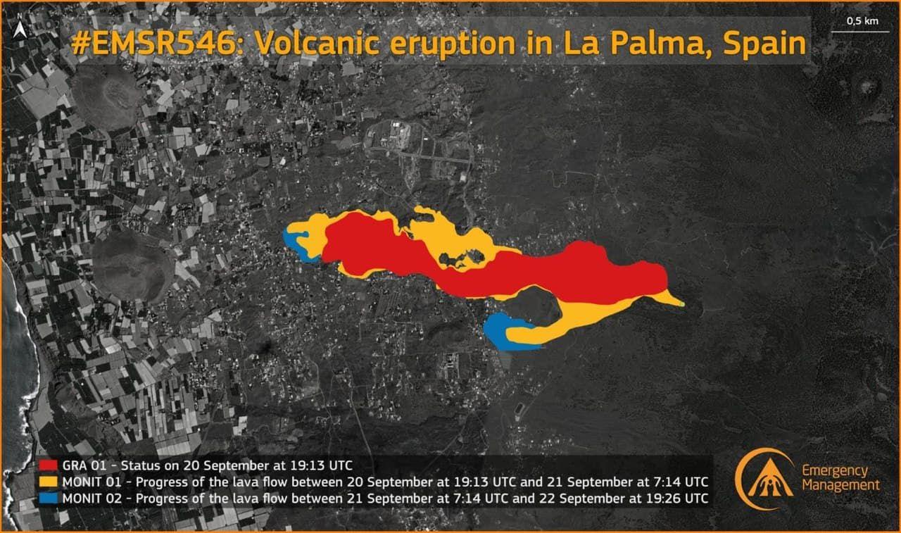 Eruption du volcan Cumbre Vieja - Ile de Palma - Canaries Fe14ad10