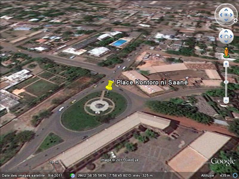 [MALI] - Les monuments sur les ronds-points de Bamako G1-cha10