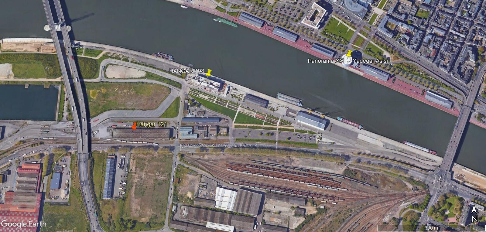 [Bientôt visible sur Google Earth] - Rouen - Ecoquartier Flaubert Hng12110