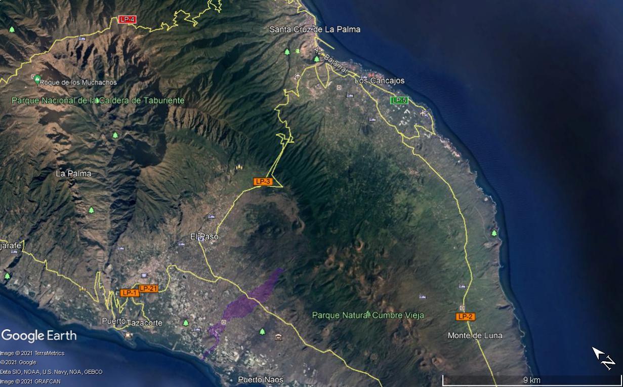 Eruption du volcan Cumbre Vieja - Ile de Palma - Canaries Image110