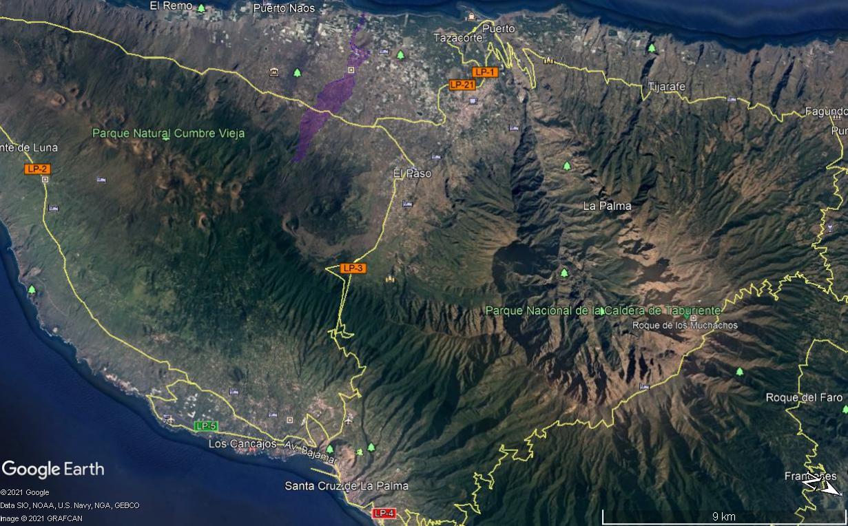 Eruption du volcan Cumbre Vieja - Ile de Palma - Canaries Image210