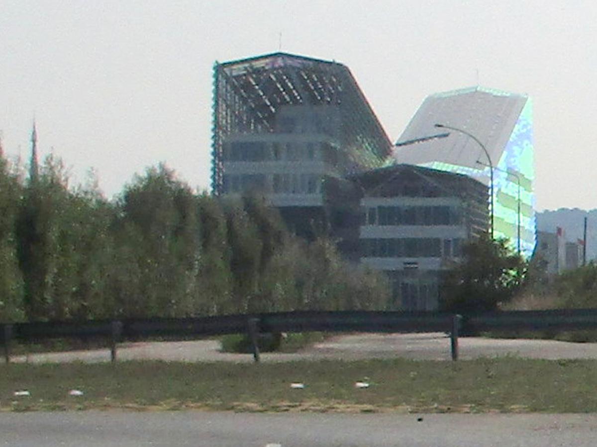 [Bientôt visible sur Google Earth] L'immeuble Metropole Rouen-Normandie - Rouen - Seine Maritime - France Img_1210