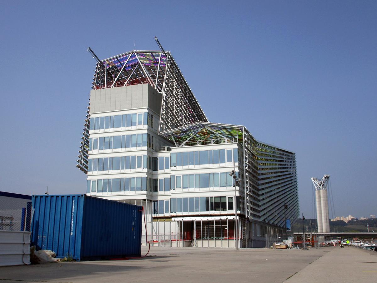 [Bientôt visible sur Google Earth] L'immeuble Metropole Rouen-Normandie - Rouen - Seine Maritime - France Img_1211