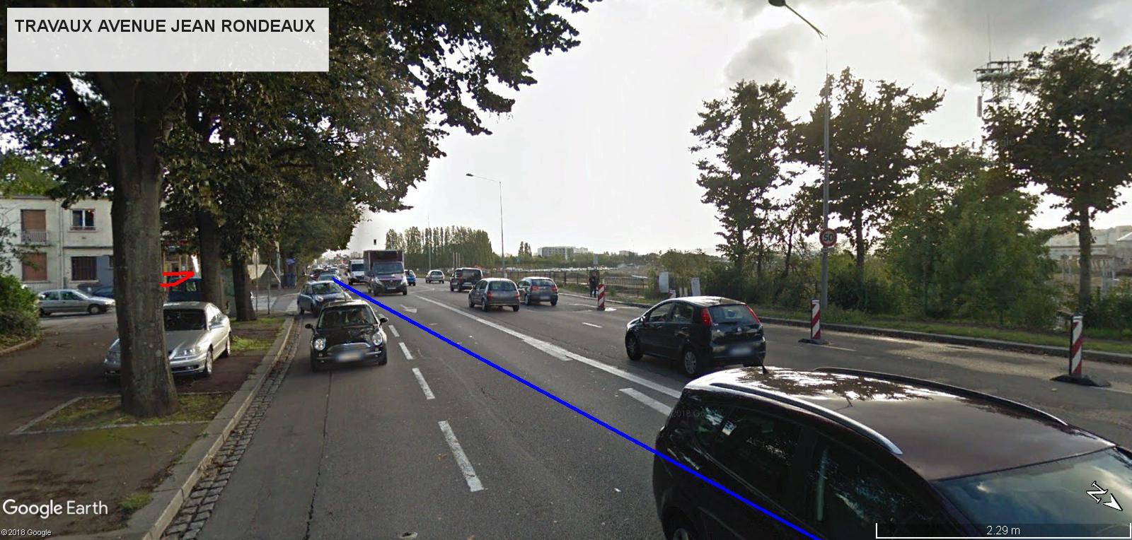 [Bientôt visible sur Google Earth] - Rouen - Démolitions Boulevard d'Orléans et Ligne de tramway T4 Jr10