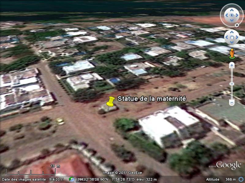 [MALI] - Les monuments sur les ronds-points de Bamako K1-mat10