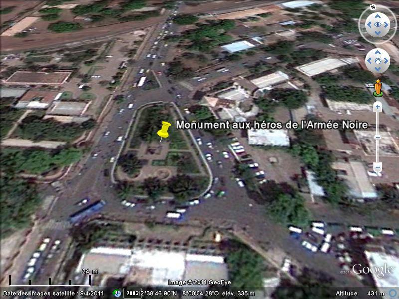 [MALI] - Les monuments sur les ronds-points de Bamako L1-lib10