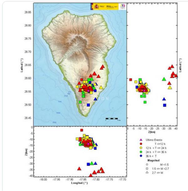 Eruption du volcan Cumbre Vieja - Ile de Palma - Canaries La-pal10
